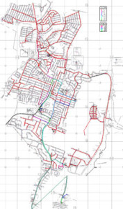 Port Washington Water District, Port Washington, NY, Hydraulic Modeling of Distribution System